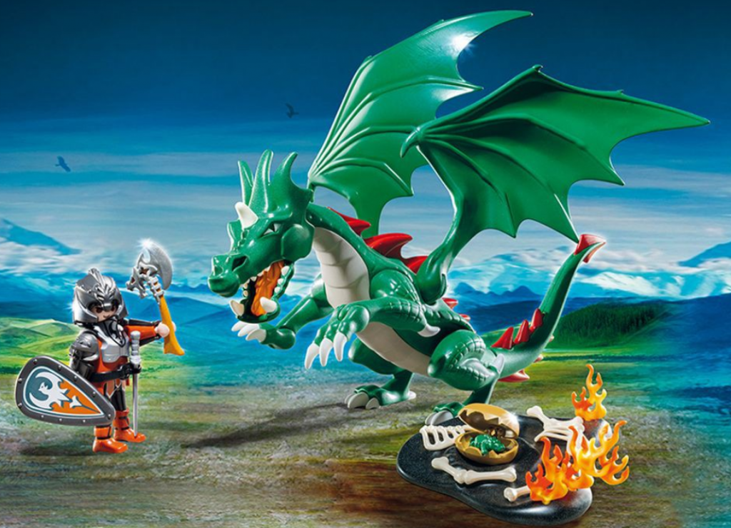 Collection playmobil dragons